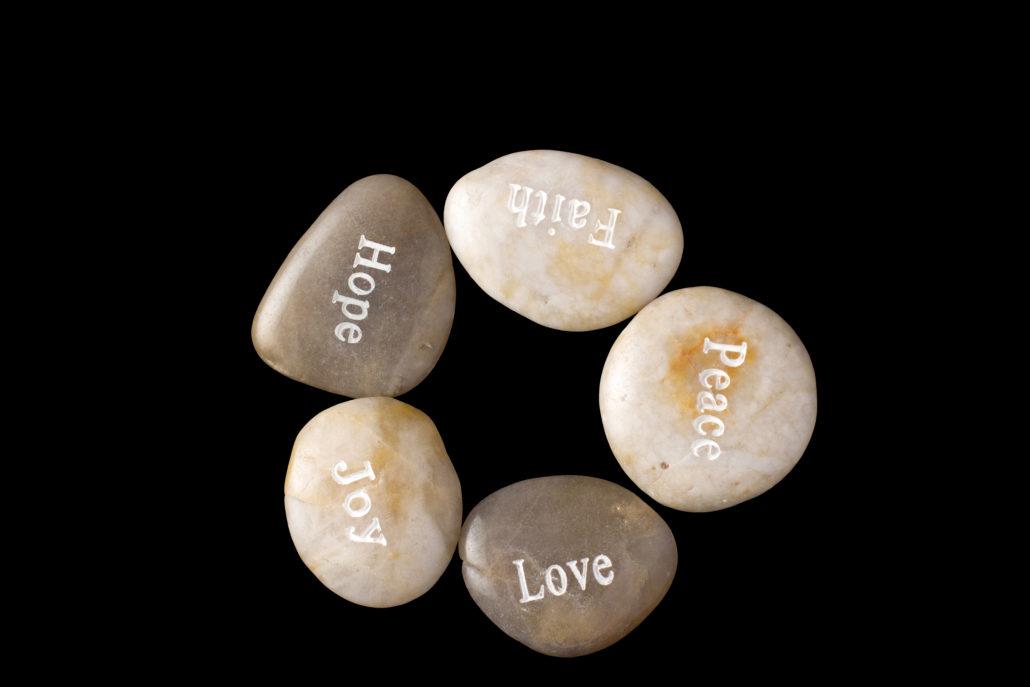 Hope Faith Peace Love Joy